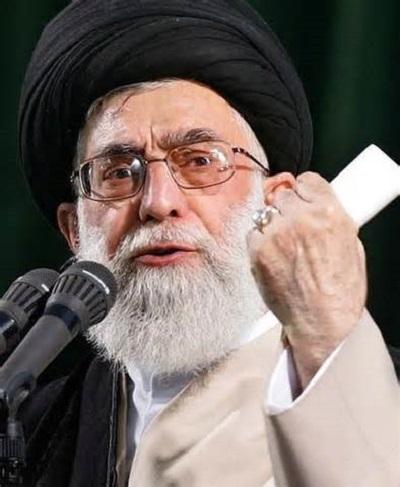 Angry Khamenei