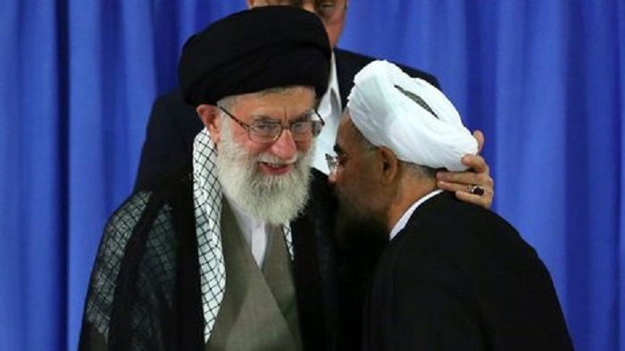 Khamenei and Rouhani (1)