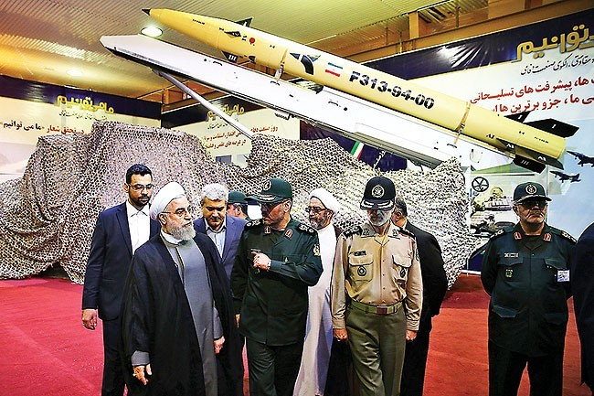 Iran Regime Unveils New Missile; Iran Lobby Goes Nuts over Parchin