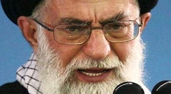 Glowering Khamenei