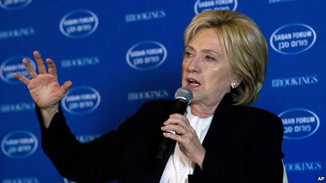 With Rising Extremism Hillary Clinton Hardens Iran Regime Stand