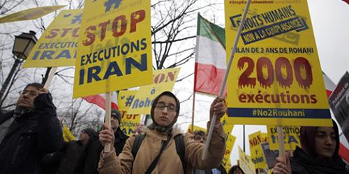 Iran Lobby Cannot Defend Growing Human Rights Violations