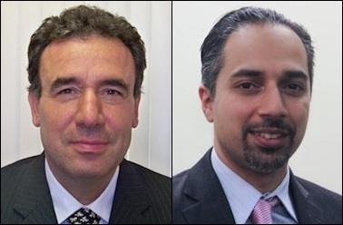 Hassan Daioleslam (left) beat back and won $183,000 from Trita Parsi and NIAC