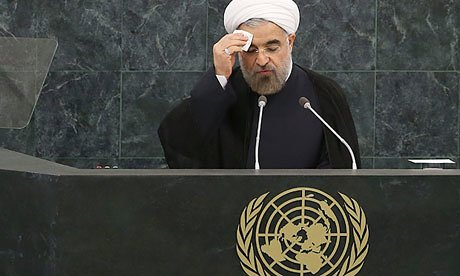 Hassan Rouhani Begins Charm Tour Leading to UN Speech