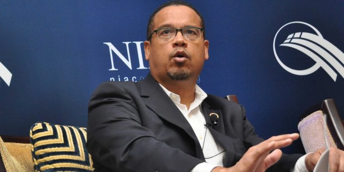 Keith Ellison's Life as NIAC Cheerleader