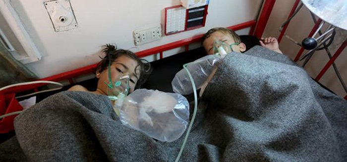 Iran Lobby Covers for Chemical Attacks on Innocents in Syria