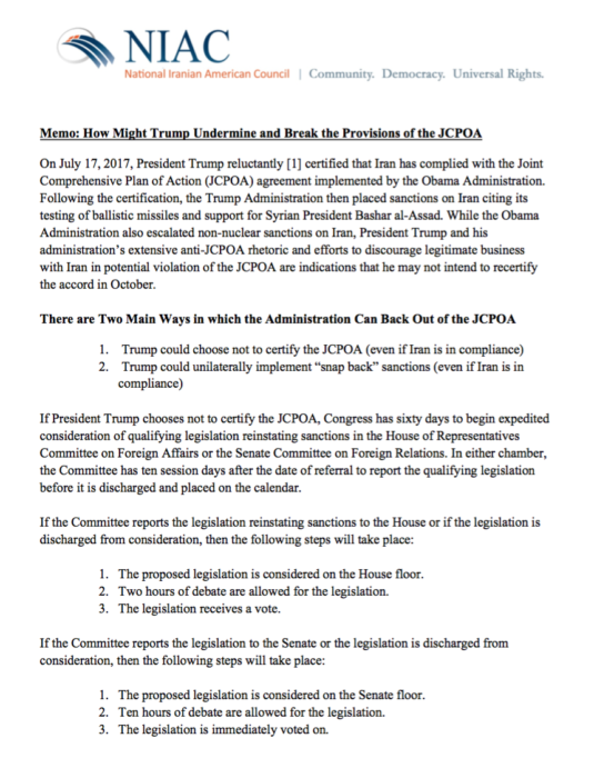 Why Does the Iran Lobby Care About the Nuke Deal?