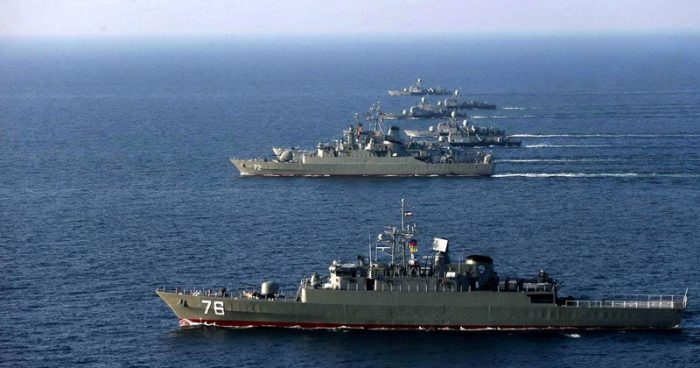Iran Ups Ante with Warships Near the US