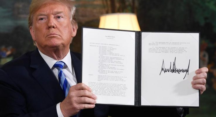 Trump Pull Out from Iran Nuke Deal is End of Line for Iran Lobby