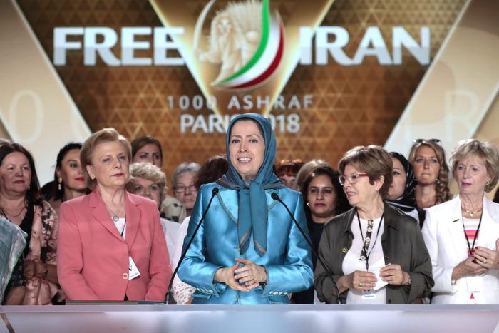 Maryam Rajavi speaks at Free Iran Rally in Paris- july 2018