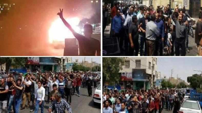 Anti-Regime Protests Increase as Iran Lobby Struggles to Defend Mullahs