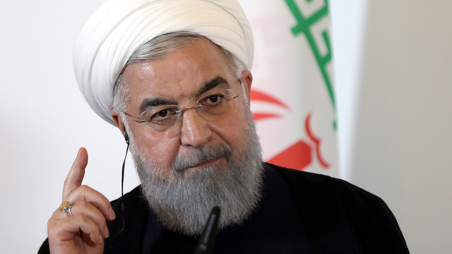 Rouhani's speech that was broadcast live by Iran's state media on August 6, 2018